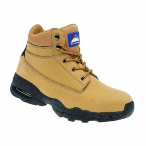 4050 Wheat coloured Air Bubble safety boot